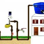 Pressurizador água de rua